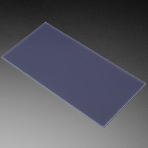 "Black LED Diffusion Acrylic Panel - 10.2"" x 5.1"" - 0.1"" / 2.6mm thick"