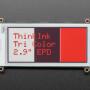 "Adafruit 2.9"" Tri-Color eInk / ePaper Display FeatherWing - Red Black White"
