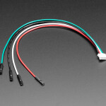 JST PH 4-Pin to Female Socket Cable - I2C STEMMA Cable - 200mm