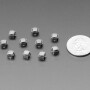 Mini Soft Touch Push-button Switches (6mm square) x 10 pack