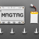"Adafruit MagTag Starter Kit - 2.9"" Grayscale E-Ink WiFi Display"