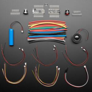 Adafruit Prop-Maker Starter Kit - Make your own Lightsaber!