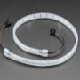 Adafruit NeoPixel 332 LED-per-Meter Silicone Bead LED Strip - 0.5 Meter