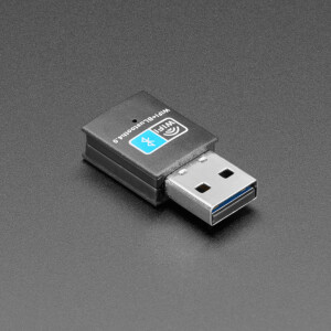 Add both WiFi and Bluetooth capability to your computer super fast with this USB Bluetooth / WiFi Dongle!  This little two-faced cutie is so versatile! Its WiFi half can be used to make Internet of Things devices cable-free or we also love to take advantage of a single-board Linux computer's USB ports to add a low-cost, but high-reliability wireless link. The Bluetooth side of things can be used for all kinds of BLE connectivity projects and devices. It's great for when you only have a single USB port (a.k.a. Raspberry Pi A+ or BeagleBone) as there's no need for a hub to add both types of wireless.  If you only need a WiFi Module, we love our Miniature WiFi Module and our beefier USB WiFi Module. For just Bluetooth our Bluetooth 4.0 USB Module is killer.  Drivers for Bluetooth modules are built into Windows 10+ so you do not need to install any software or download anything. Just plug it in and let Windows auto-install the BT driver, it may take a few minutes!  For Linux, a kernel module install is required, but given the RTL8723BU is the only chipset available it wasn't too bad. A tutorial is at https://raspmer.blogspot.com/2018/07/mantistek-wa150-wifibluetooth-rtl8723bu.html - we ran it on a Raspberry Pi Zero and it worked, just took a while to complete the install.       TECHNICAL DETAILS General Description The Realtek RTL8723BU is an 802.11bgn 2.4G single-chip that integrates Wireless LAN (WLAN) and a network USB interface (USB 1.0/1.1/2.0 compatible) controller with integrated Bluetooth 2.1/3.0/4.0 controller. It combines a WLAN MAC, a 1T1R capable WLAN baseband, and WLAN RF in a single chip. The RTL8723BU provides a complete solution for a high-throughput performance and low power consumption integrated wireless LAN device.  Features 802.11bgn USB 2.0 for WLAN and Bluetooth Wake on Wireless LAN Antenna Diversity Bluetooth Low Energy