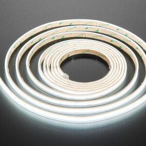 Ultra Flexible White LED Strip - 480 LEDs per meter - 5m long - Cool White ~6500K