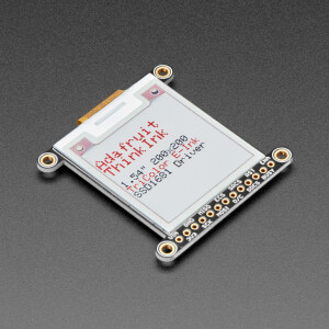 "Adafruit 1.54"" Tri-Color eInk / ePaper 200x200 Display with SRAM - SSD1681 Driver"
