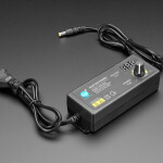 Adjustable Power Supply with 2.1mm / 5.5mm DC - 3V to 12V at 5A