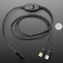 USB Host Switching Cable - Mini Mechanical KVM