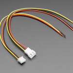 2.5mm Pitch 3-pin Cable Matching Pair - JST XH Compatible