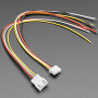 2.5mm Pitch 4-pin Cable Matching Pair - JST XH compatible