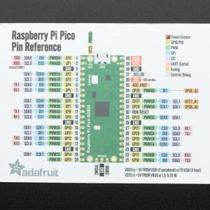 Adafruit GPIO Reference Card for Raspberry Pi Pico