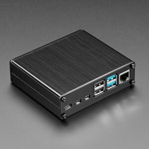 Lincoln Binns Black Pi-Box Pro 4 Enclosure for Raspberry Pi 4