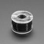 Ultra-Fine Stranded Wire Spool - 10 meters - 36AWG - Black