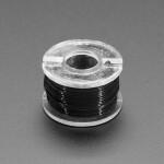 Ultra-Fine Stranded Wire Spool - 10 meters - 32AWG - Black