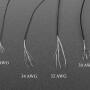 Ultra-Fine Stranded Wire Spool - 10 meters - 30AWG - Black