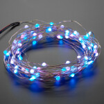 Fixed Address NeoPixel LED Fairy Lights - 100 Wired LEDs
