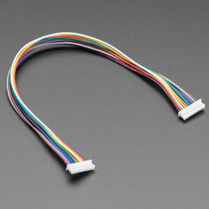 1.25mm Pitch 10-pin Cable 20cm long 1:1 Cable - Molex PicoBlade Compatible