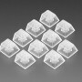 Translucent Keycaps for MX Compatible Switches - 10 pack