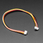 1.25mm Pitch 5-pin Cable 20cm long 1:1 Cable - Molex PicoBlade Compatible