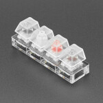 Kailh Mechanical Four Key Tester: White Black Red Brown Switches