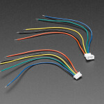 1.25mm Pitch 5-pin Cable Matching Pair 10 cm long - Molex PicoBlade Compatible