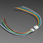 1.25mm Pitch 6-pin Cable Matching Pair - 10 cm long - Molex PicoBlade Compatible