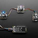 Adafruit I2C QT Rotary Encoder with NeoPixel - STEMMA QT / Qwiic
