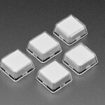 Relegendable Plastic Keycaps for MX Compatible Switches - 5 pack