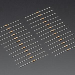 Through-Hole Resistors - 10K ohm 5% 1/4W - Pack of 25