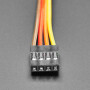 """2.54mm 0.1"""" Pitch 4-pin Jumper Cable - 20cm long"""
