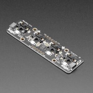NeoKey 1x4 QT I2C - Four Mechanical Key Switches with NeoPixels - STEMMA QT / Qwiic
