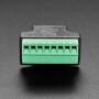 RJ-45 Terminal Block to Ethernet Socket Adapter