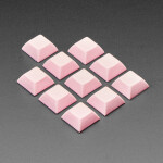 Pink DSA Keycaps for MX Compatible Switches - 10 pack