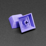 Purple DSA Keycaps for MX Compatible Switches - 10 pack