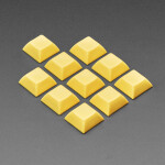 Dark Yellow DSA Keycaps for MX Compatible Switches - 10 pack