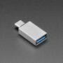 USB A Socket to USB Type C Plug Adapter