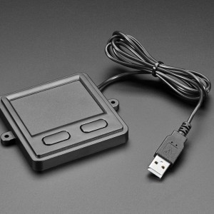 Mini Panel Mount USB Trackpad with Two Buttons