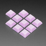 Light Purple DSA Keycaps for MX Compatible Switches - 10 pack