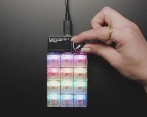 Adafruit MacroPad RP2040 Starter Kit - 3x4 Keys + Encoder + OLED