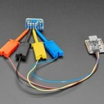 JST-SH 4-pin Cable with Micro SMT Test Hooks - STEMMA QT / Qwiic