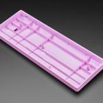 Lavender Plastic 60% / GH60 Keyboard Shell